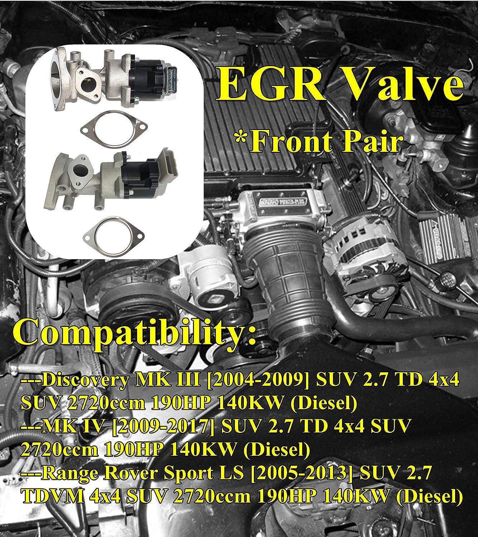 Lr018323 Abgasrückführungsventil Links Und Rechts Lr006988 Lr009810 Für Discovery Iii Iv Range Rover Sports Auto