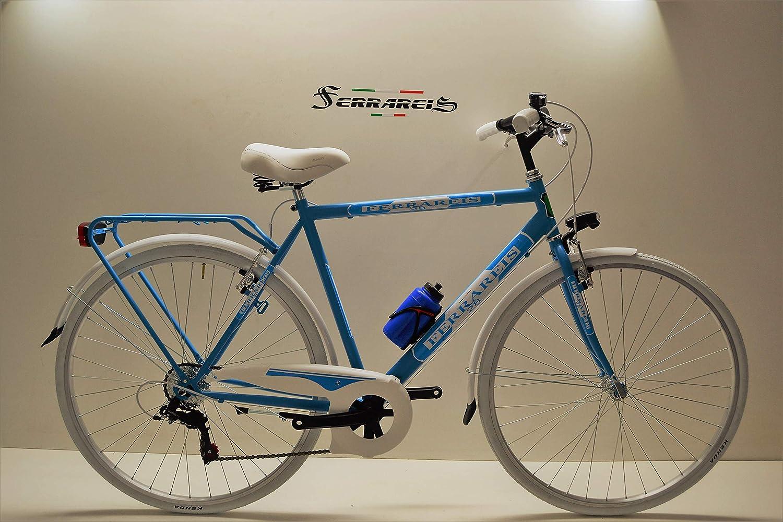 Ferrareis - Bicicleta de Trekking 28 para Hombre, 6 V, Shimano ...