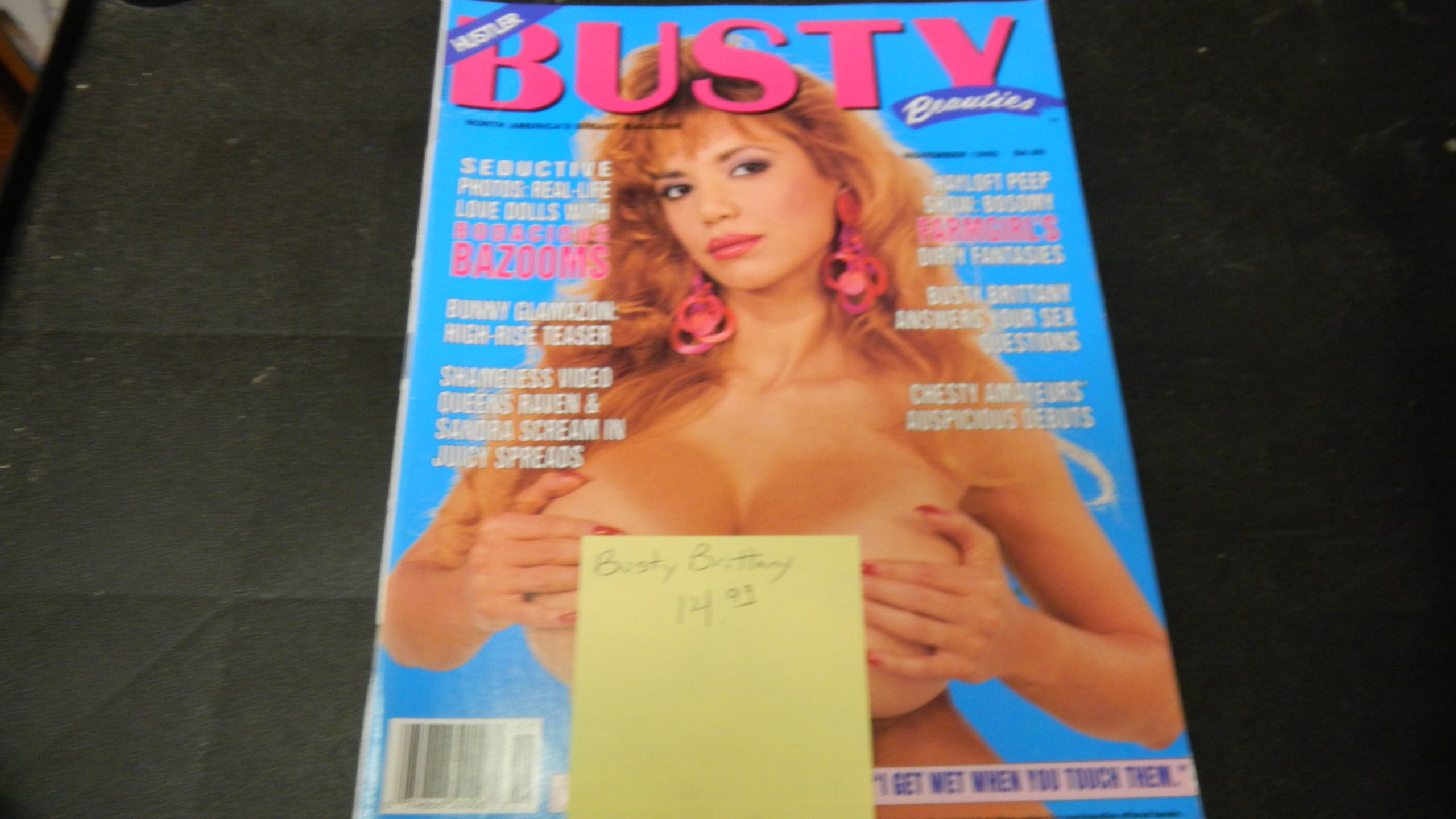 busty beauties magazine Hustler