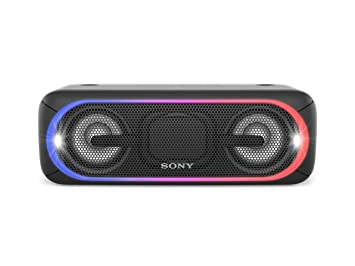 Sony SRS XB40 Powerful Portable Wireless Speaker With Extra Bass And Lighting