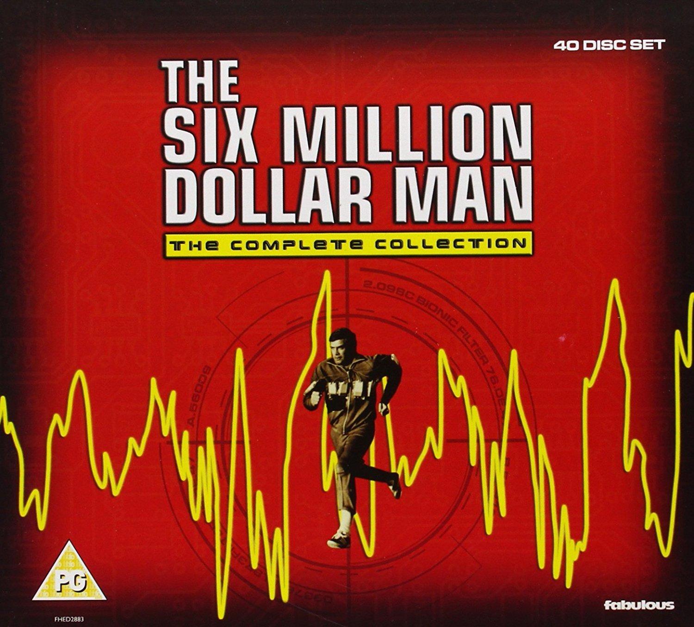 The [Import Six Million Dollar Dollar Man - The Million Complete Collection [DVD] [2012] [NTSC] [Import anglais] B005ZSHAP0, カラフル&ナチュラルなエコマコ:631b1660 --- ijpba.info