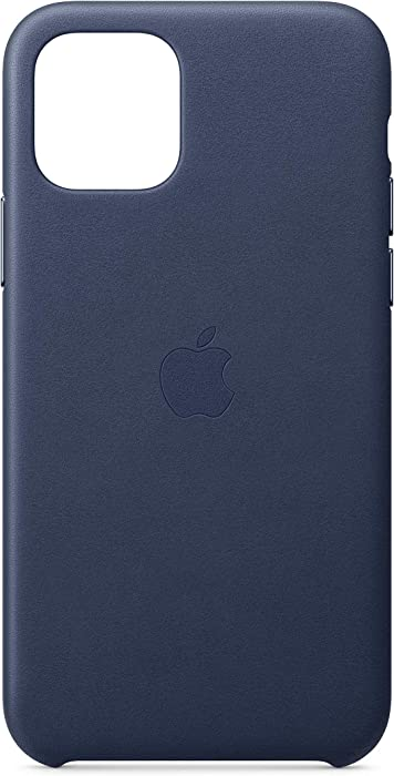Apple Leather Case (for iPhone 11 Pro) - Midnight Blue