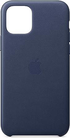 Image ofApple Funda Leather Case (para el iPhone 11 Pro) - Azul Noche