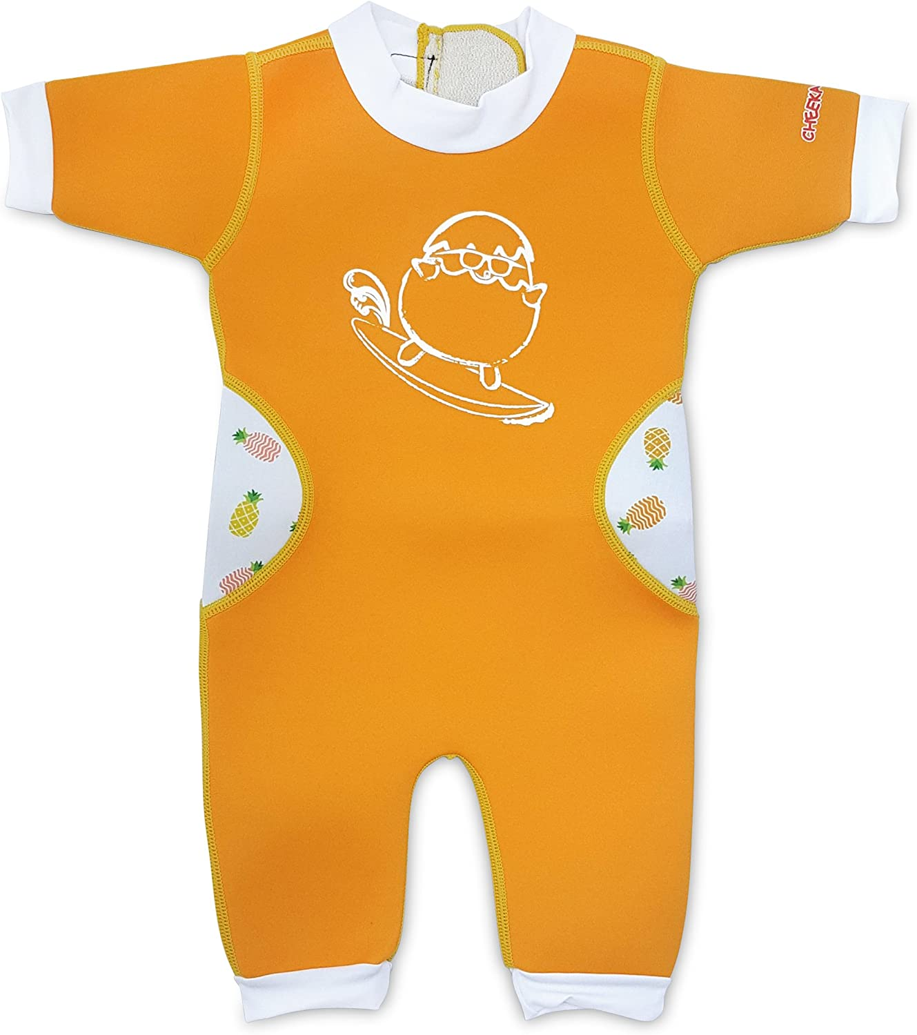 Cheekaaboo Warmiebabes Baby & Kids One Piece Swimsuit for Boys and Girls, 6-48 Months