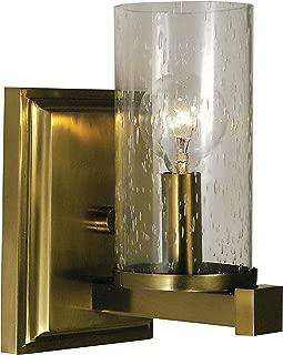 product image for Framburg 1111 BB 1-Light Compass Sconce, Brushed Bronze