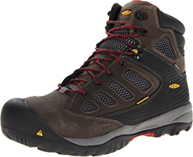 94c67b129b KEEN Utility Men's Tucson Mid Magnet/Chili Pepper Boot 7 EE - Wide