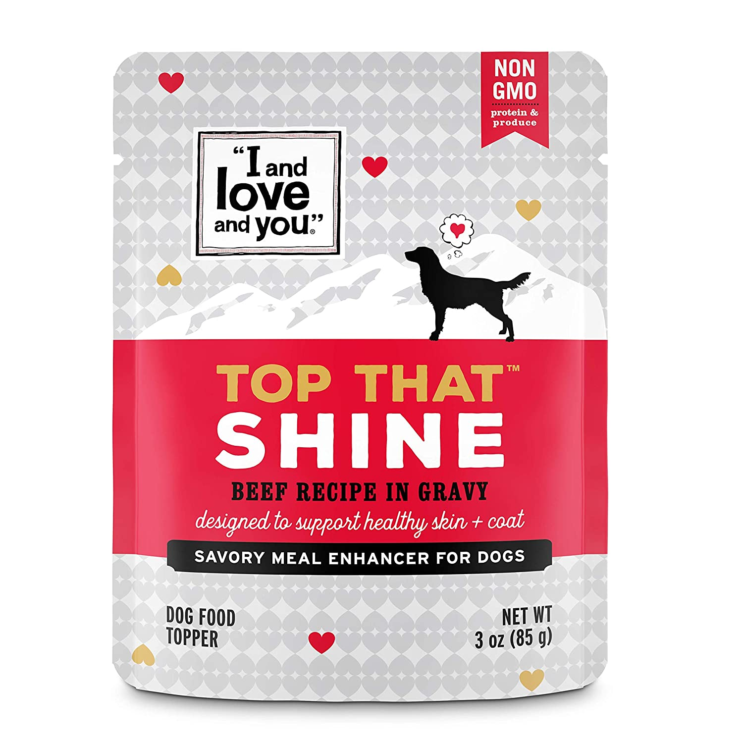 I and love and you Top That Meal Enhancer Grain Free Wet Dog Food Topper Variety of Flavors