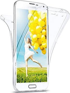 MoEx Coque intégrale en Silicone Compatible avec Samsung Galaxy S3 / S3 Neo | 360° - Transparent, Transparent