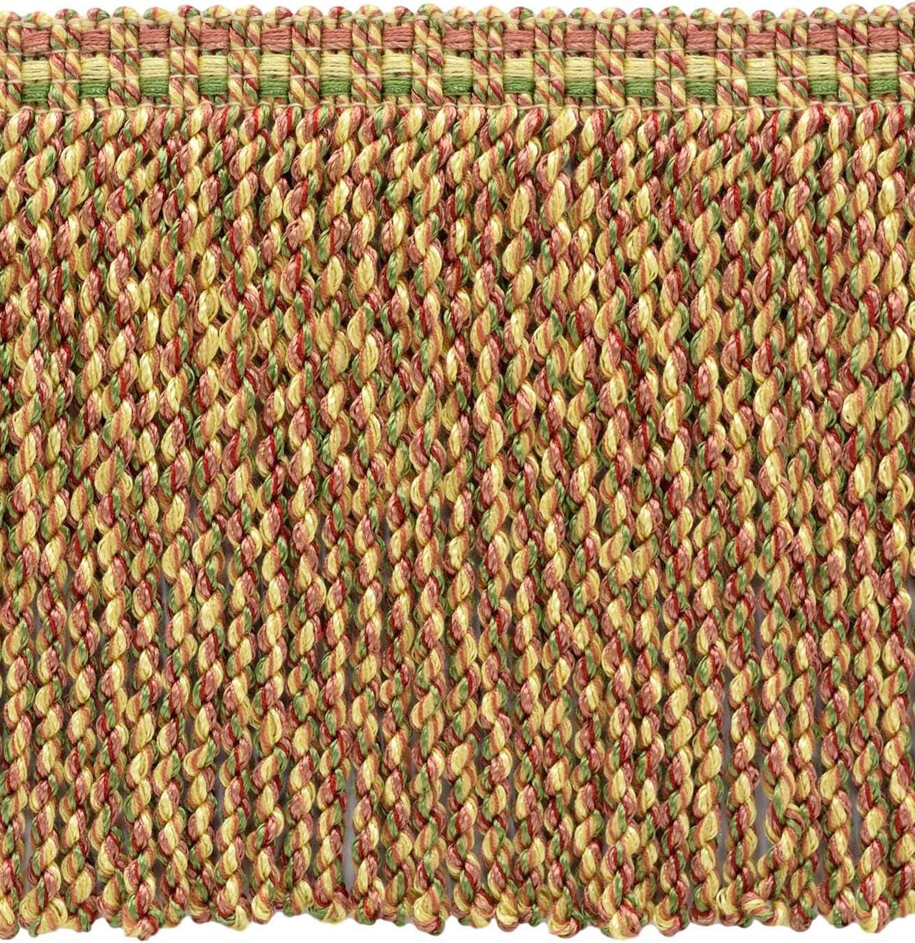 15cm D/ÉCOPRO 5 Yard Value Pack of Alpine Green Green Yellow Maize Decorative Bullion Fringe Style#: BFV6 Color: VNT8 Light Brick 6 inch Daylily Bouquet
