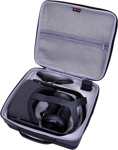 XANAD Estuche rígido de viaje para Oculus Quest All-in-one VR Auriculares para juegos - Bolsa protectora de almacenamiento: Amazon.es: Videojuegos