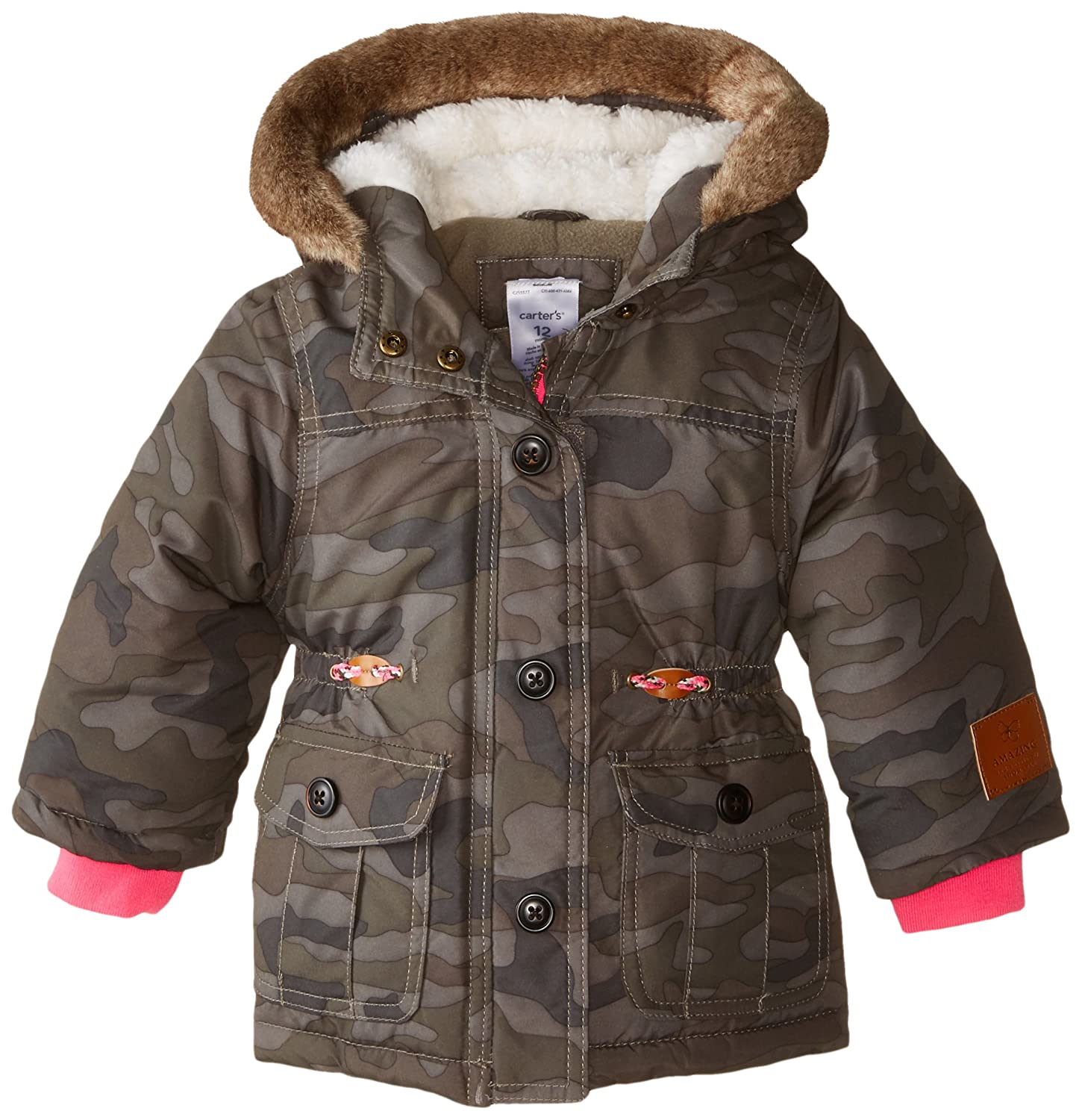 Carter's Baby Girls' Heavyweight Single Jacket Carter's C215577