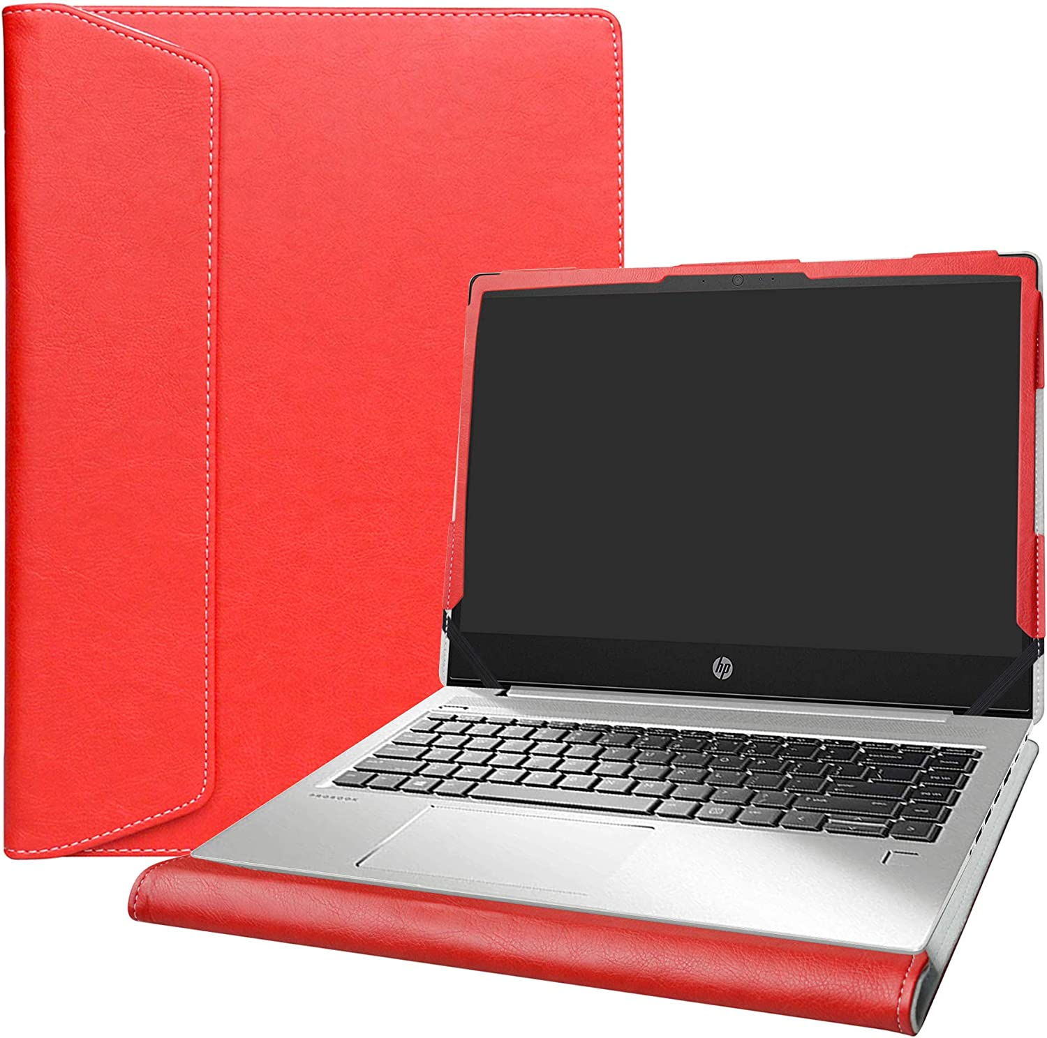 """Alapmk Protective Case Cover for 14"""" HP ProBook 440 G6/HP ProBook 440 G7/HP ProBook 445 G6/HP ProBook 445R G6/HP ProBook 445 G7 Laptop[Note:Not fit ProBook 440 G5 G4 G3 G2],Red"""