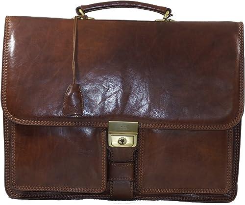 The Bridge Men's Top-Handle Bag brown brown: Amazon.co.uk: Shoes & Bags