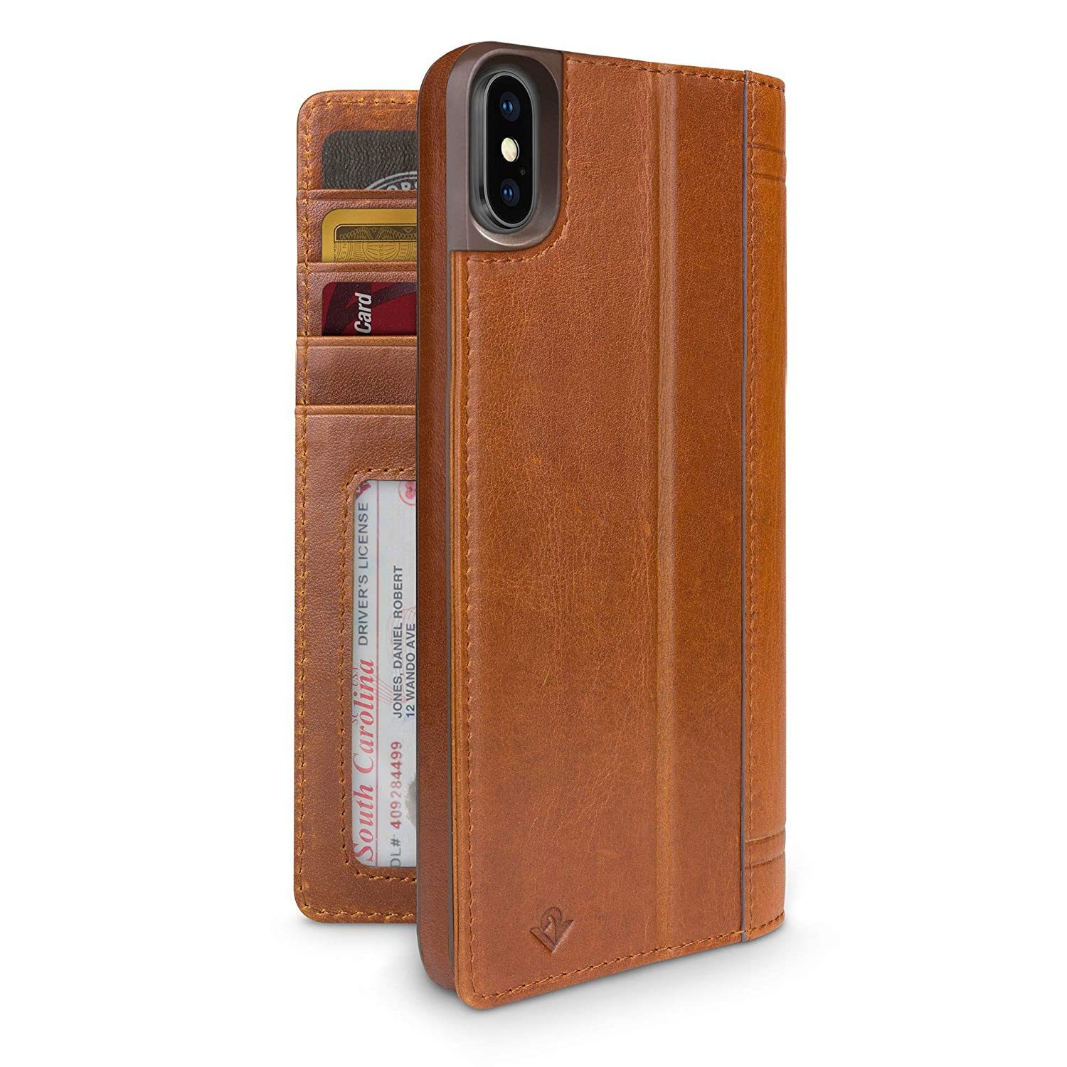 twelve south iphone xs max  : Twelve South Journal for iPhone Xs Max | Luxury Leather ...