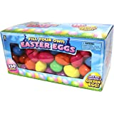 Plastic Easter Eggs - Bulk Pack Of 250 Small Easter Eggs