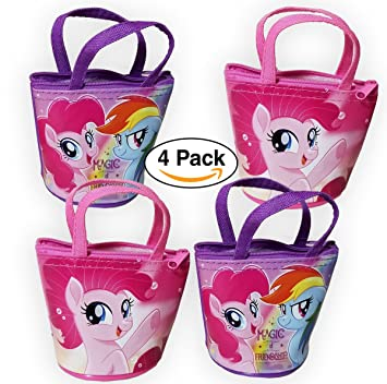 Amazon.com: Paquete de 4 – My Little Pony Mini bolsas ...