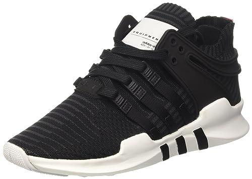official photos 437a7 2f632 adidas EQT Support ADV Primeknit, Zapatillas Unisex Adulto, Negro Core Black Turbo, 39 13 EU Amazon.es Zapatos y complementos