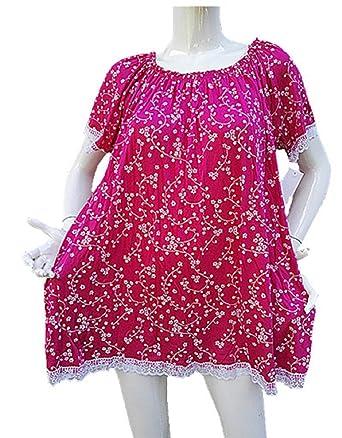 Unique Femme Taille Haut 46 44 52 48 Top Fashionfolie 50 Tunique w7xSBAqIx