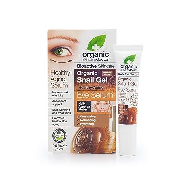 Amazon.com: Organic Doctor Organic Snail Gel Eye Serum, 0.5 fl.oz ...