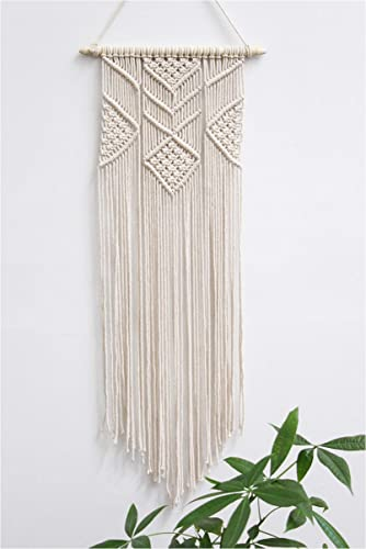 Macrame Wall Hanging – 3 Foot Length Boho Inspired Tapestry, Handmade