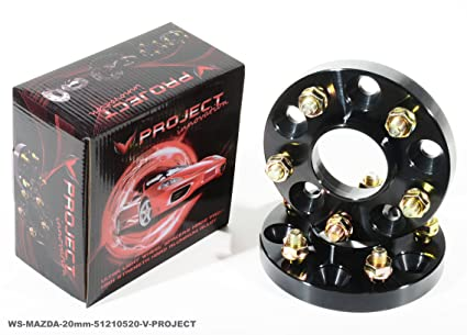 1 par 2 Pcs Negro 20 mm hubcentric rueda espaciadores adaptador HYUNDAI VELOSTER Veloster Turbo tipo