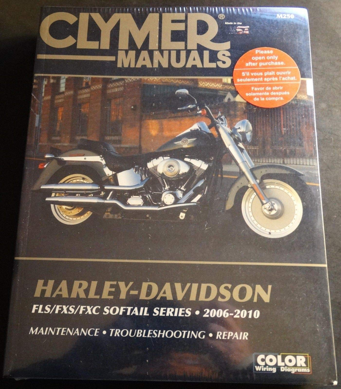 Harley-Davidson FLS//FXS//FXC Sofftail Series 2006-2010