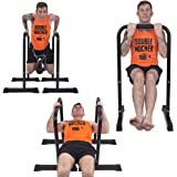 Barbarian Adjustable Parallel Bars Now 75, 90, & 110 cm High | Parallettes | Gymnastic Bars | Dip Station | Dip Machine | Crossfit | MMA