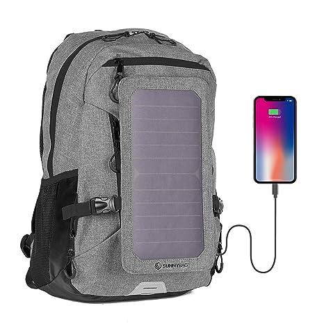 Amazon.com: Sunnybag - Mochila con panel solar Explorer+ ...