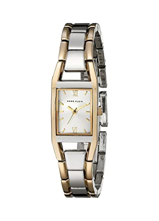 2fd8946960ea Amazon.com  Anne Klein Women s 10-6419SVTT Two-Tone Dress Watch ...