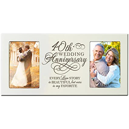Amazon 40th Wedding Anniversary Gifts For Couple 40 Year