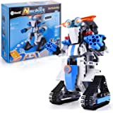 STEM Projects for Kids Remote & APP Controlled Coding Gear Robotics Kit Compatible with Lego Robot Science Kit Birthday Gift