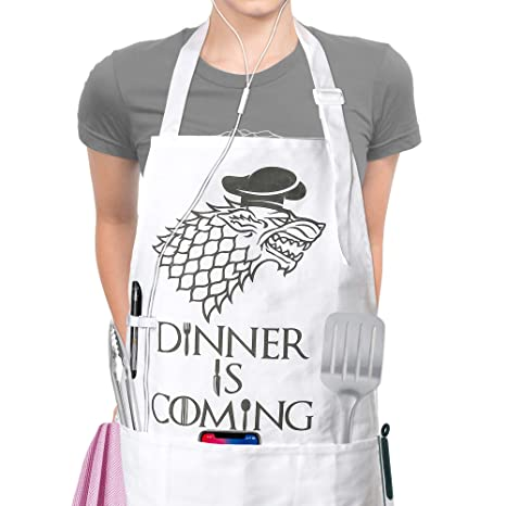 Home 8 Colors Aprons Kitchen Personalized Digital Printed Sexy Funny Apron For Women Man Bbq Cleaning Cooking Apron Daily Home Use Wide Selection;