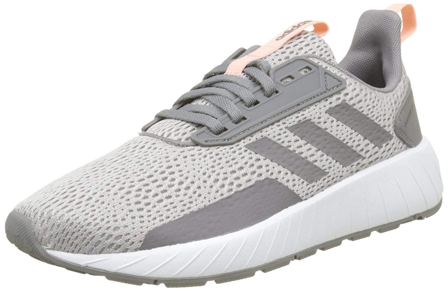 adidas Damen Questar Drive Gymnastikschuhe  38 EU|Grau (Grey Two F17/Grey Three F17/Hi-res Orange S18)