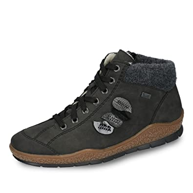 Rieker Womens NAPOLI Waterproof Lace Up Ankle Boots L6904-45  Amazon.co.uk   Shoes   Bags 306910180a