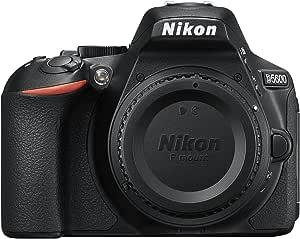 NIKON D5600 DX-Series Digital Body, Black - D5600 Body