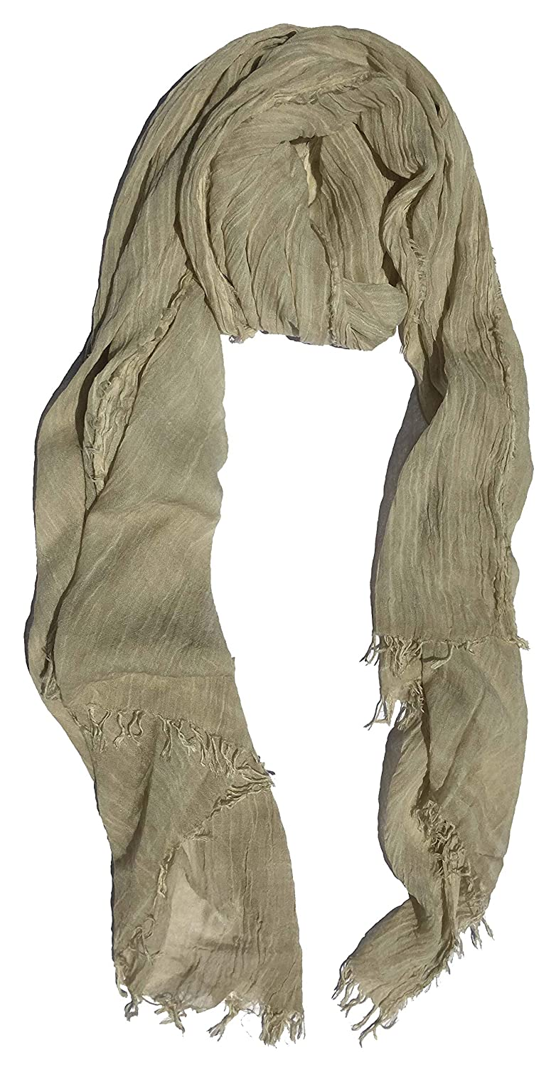 Natural2 Colby&Co 100% Pure Natural Cotton, No Synthetic Fibers, Unisex, Scarves  Multi colors Styles