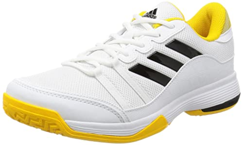 adidas Barricade Court, Scarpe da Tennis Uomo, Nero (Footwear White/Core Black