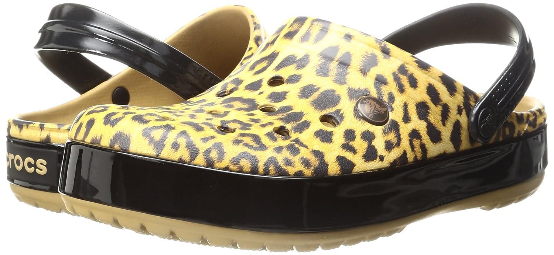 Crocs Clogs Unisex-Erwachsene Crocband Leopard II Clogs Crocs Braun (Camel) e1b5f4