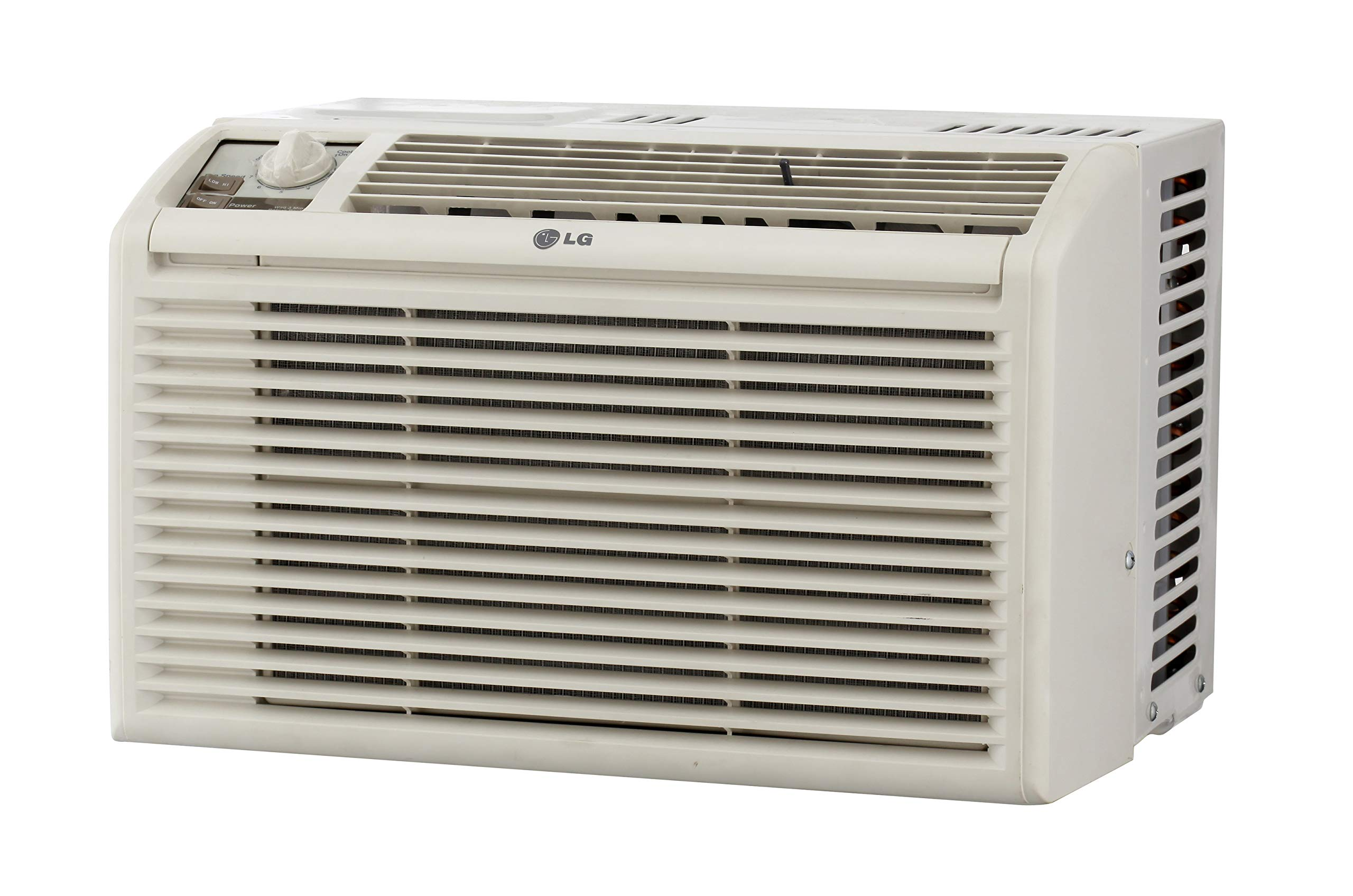 LG 5,000 BTU Manual Controls Window Air Conditioner White by LG