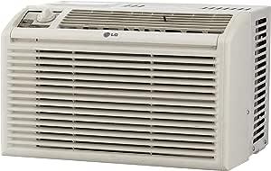 LG LW5016 5,000 BTU Manual Controls Window Air Conditioner, White