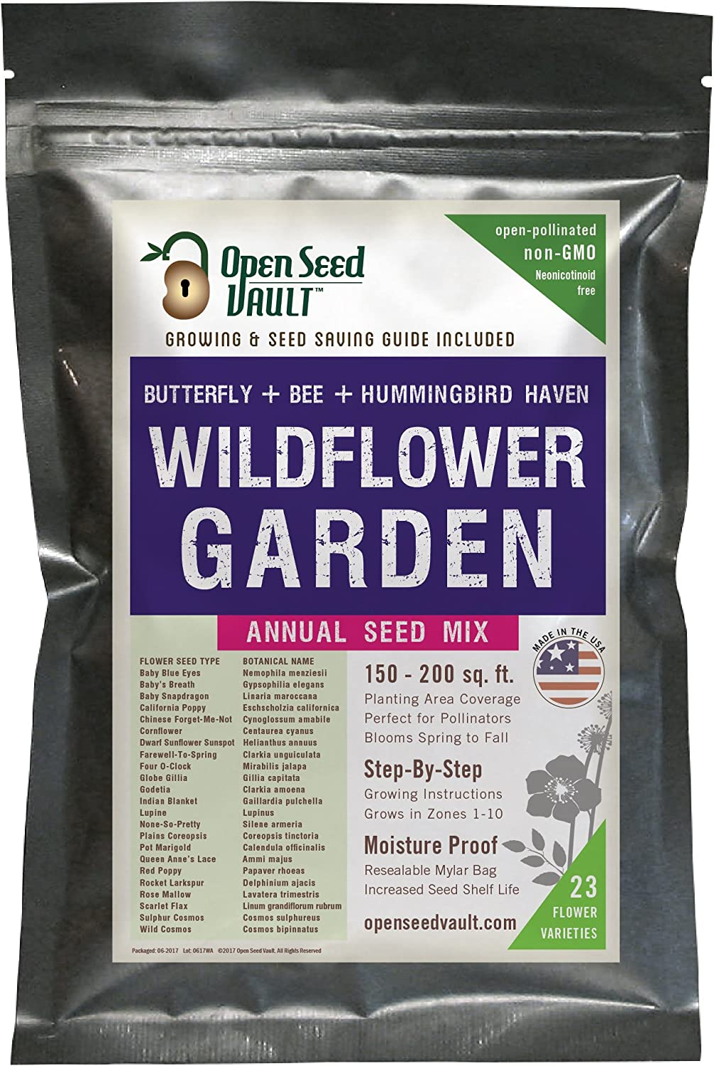 Wildflower-Seeds-Bulk-Annual-Seed-Mix-Plus-Full-Growing-Guide-by-Open-Seed-Vault
