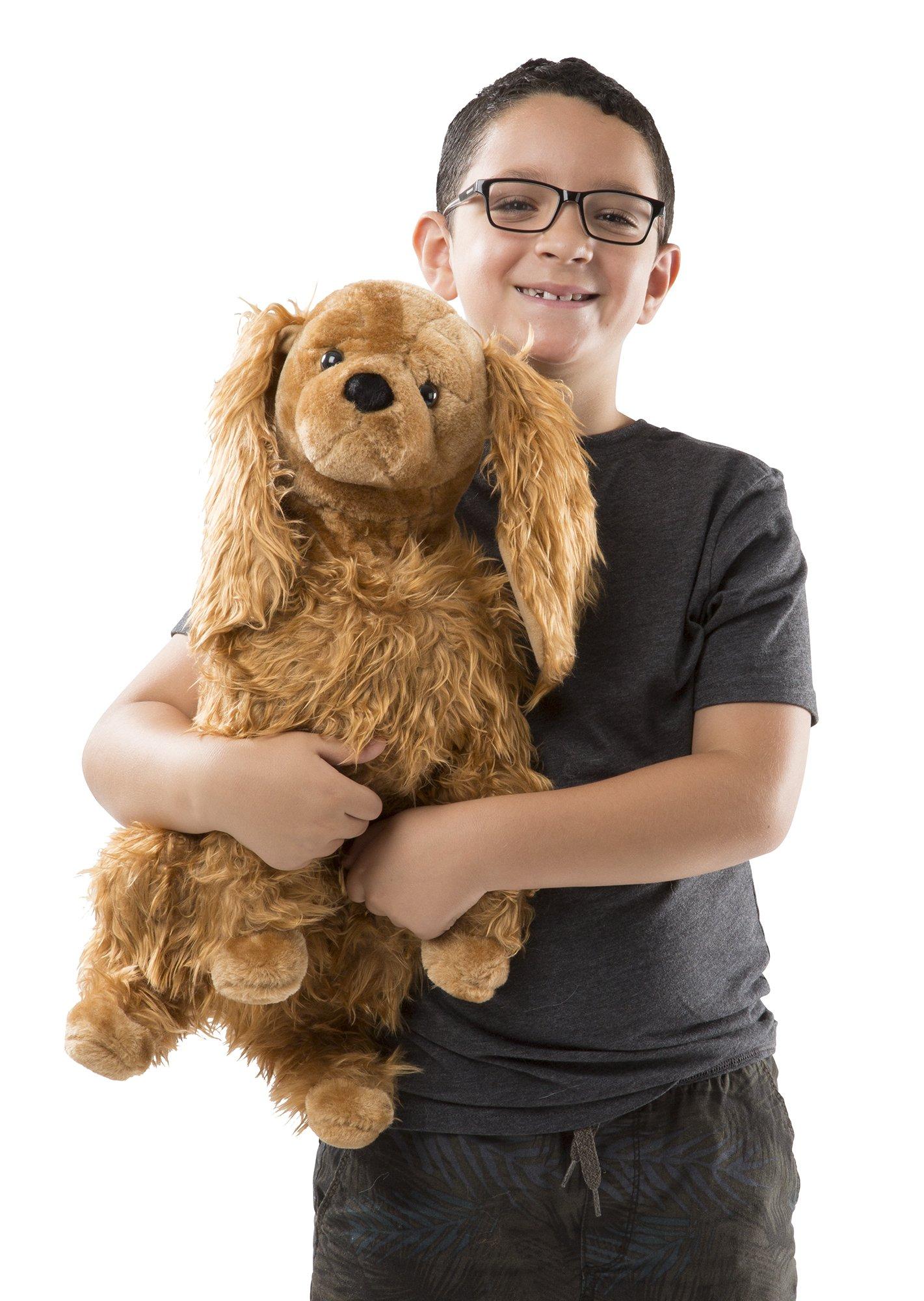 Melissa & Doug Giant Cocker Spaniel  - Lifelike Stuffed Animal Dog by Melissa & Doug