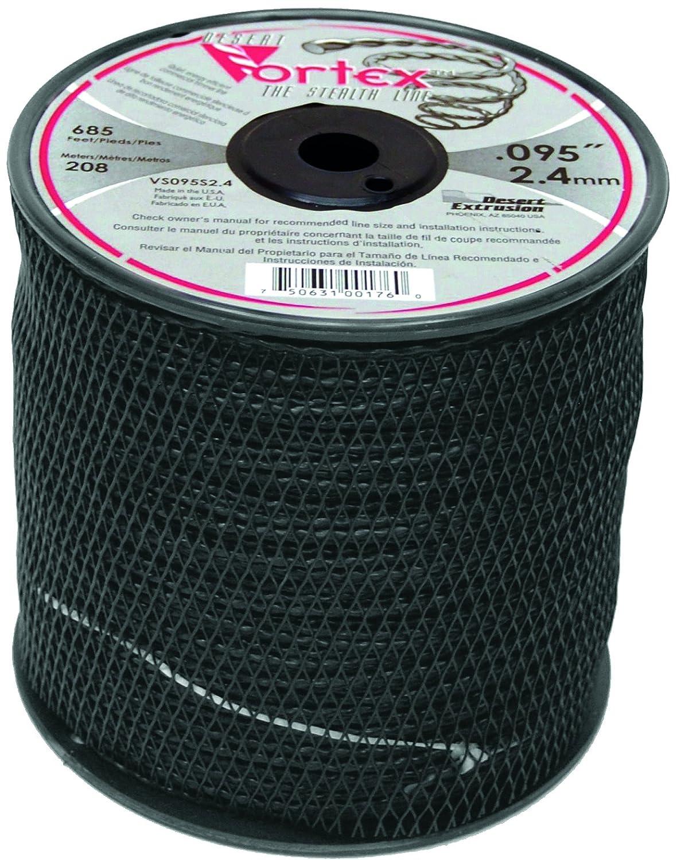 Greenstar 11386-Bobina de hilo de nailon copolímero Vortex, Negro ...