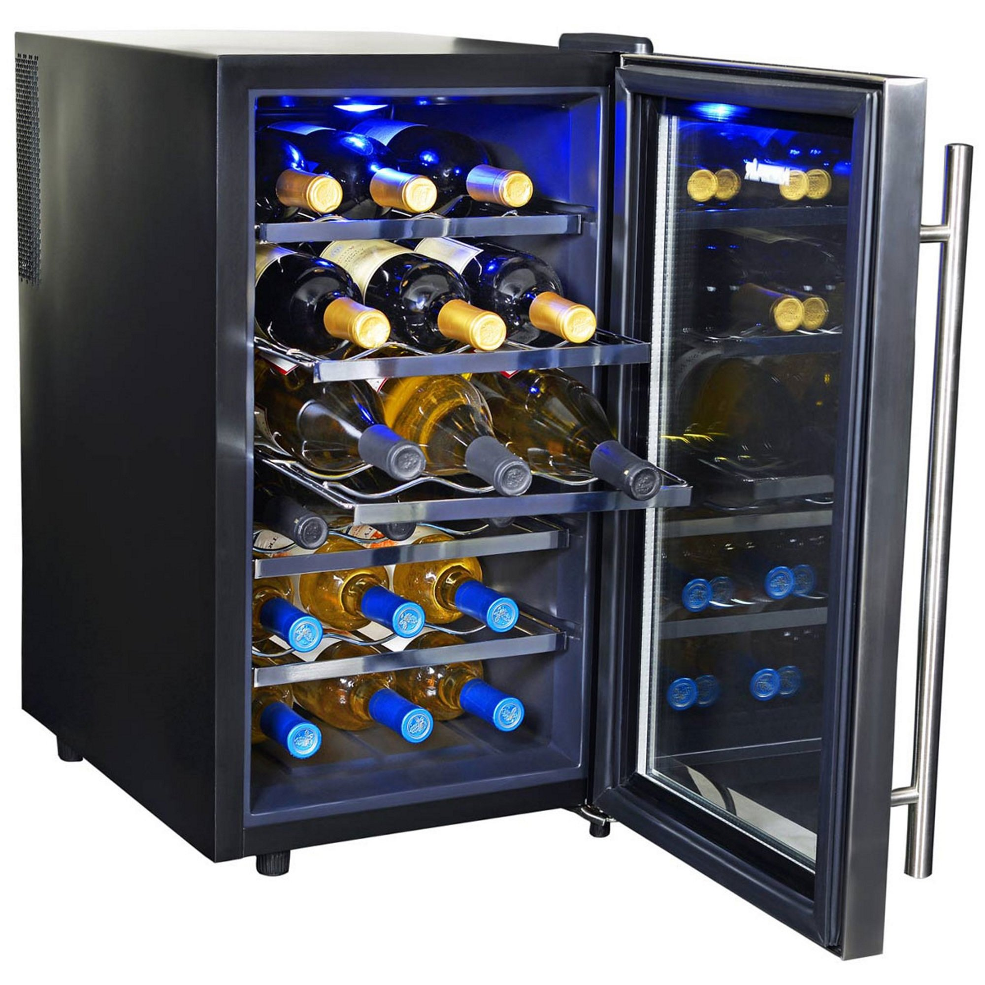 NewAir AW-181E 18 Bottle Thermoelectric Wine Cooler, Black by NewAir (Image #9)