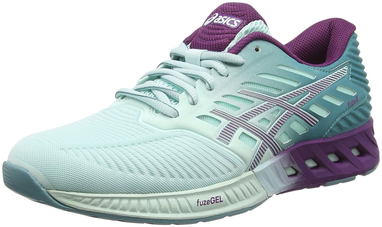 Asics Fuzex T689n, Zapatillas de Running para Mujer 36 EU|Azul (Blue/Purple)