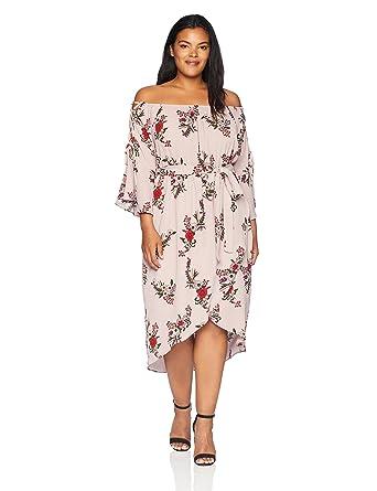 499aae827b2 City Chic Women s Apparel Women s Plus Size Dress Skye Floral at ...
