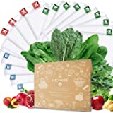 Kitchwise Reusable Grocery Produce Bags Ecofriendly Bags Set of 16