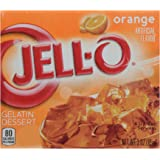 Jell-O Gelatin Orange, 3 oz