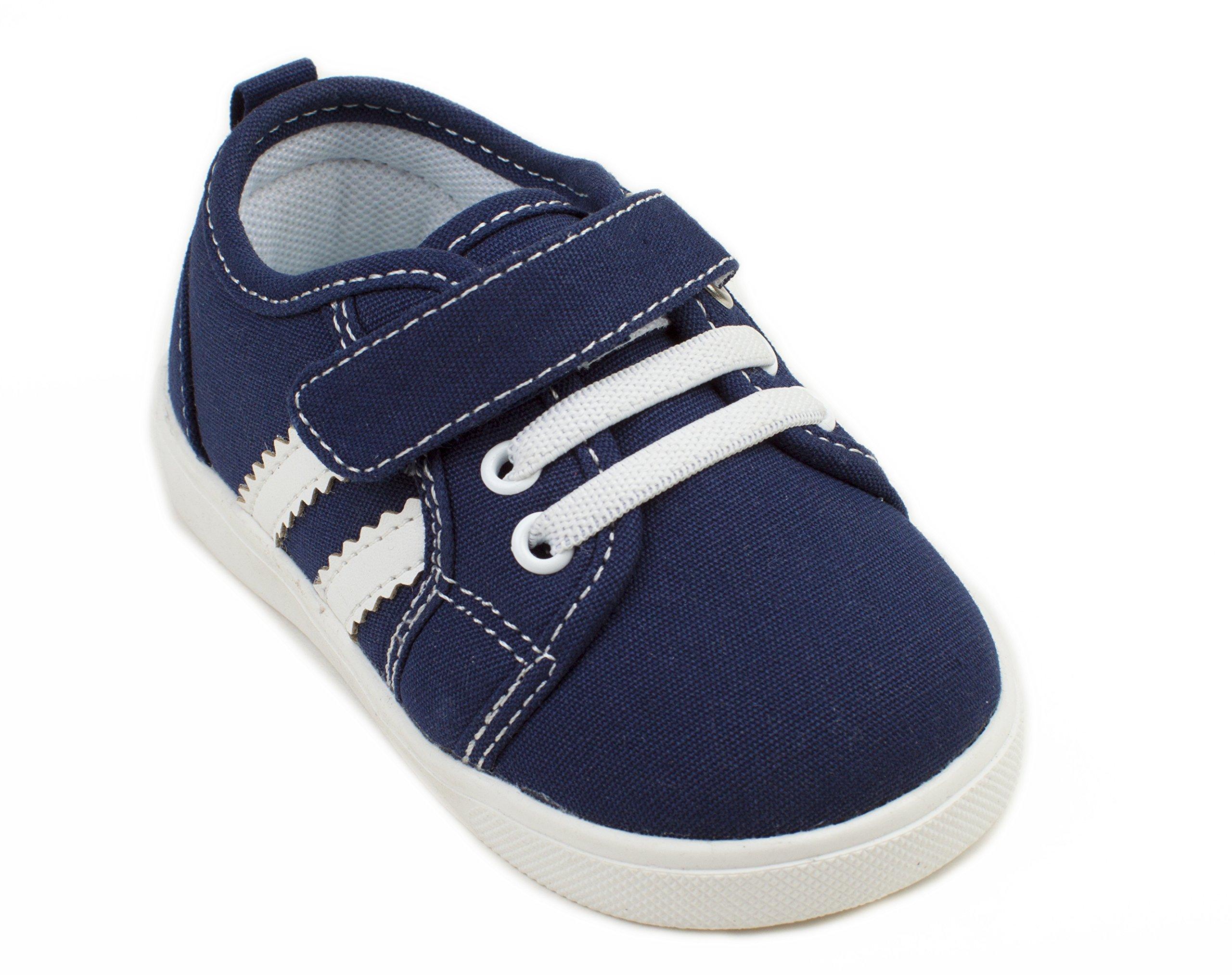 Wee Squeak Tennis Shoe Navy - Size 4