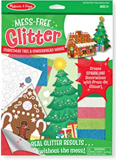 melissa doug mess free glitter christmas tree and gingerbread house - Free Christmas Decorations